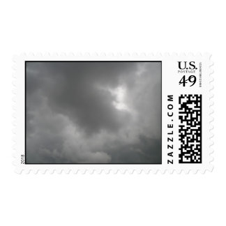 Storm Clouds Postage Stamp