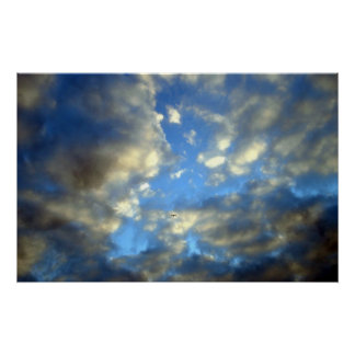 Storm Clouds Print Poster