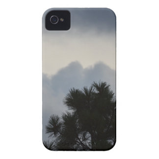 Storm Clouds through Pine Tree iPhone 4 Case