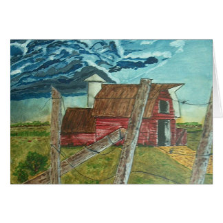 Storm Coming Card