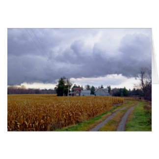 Storm Coming In Card