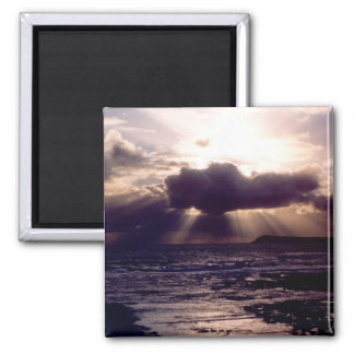 Storm Crossing Photo Magnet