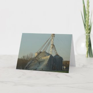Storm Damaged Grain Bin card