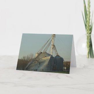 Storm Damaged Grain Bin card