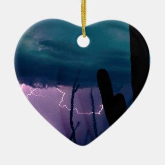 Storm Desert Snap Bolts Ornament