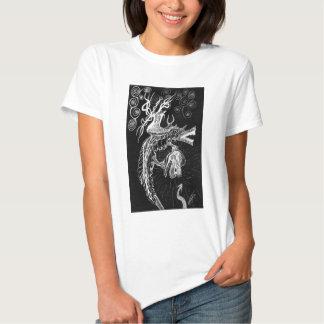 Storm Dragon Inverted T Shirt
