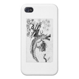 Storm Dragon iPhone 4 Covers