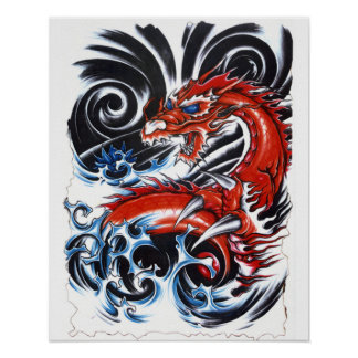 Storm Dragon Poster