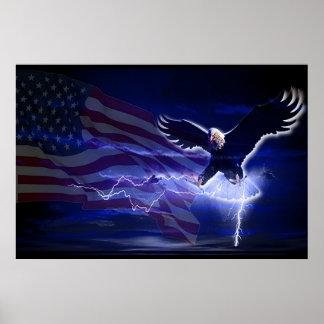 Storm Eagle Poster