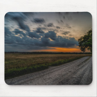 Storm field mouse pad