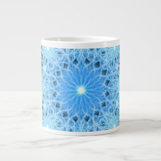 Storm Flake Mandala Giant Coffee Mug