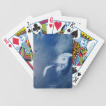 Storm Formations above Earth Bicycle Playing Cards
