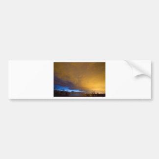 Storm Front Bumper Sticker