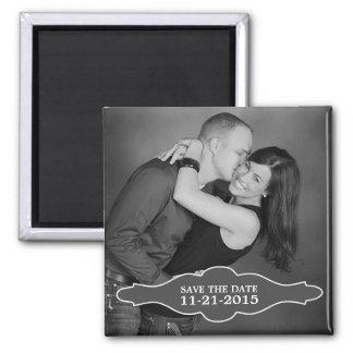 Storm Grey La Bon Vie Photo Save the Date Magnet