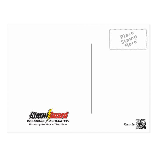 Storm Guard Insurance Restoration Thank You Cards