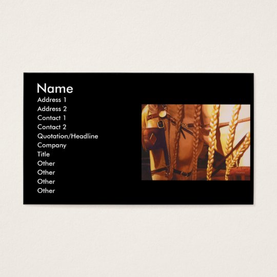 Storm Horse Watercolor Business C... - Customized Business Card