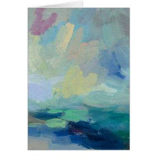 Storm I Abstract Print   Silvia Vassileva Card