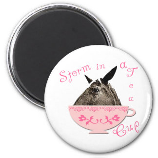 Storm in a Teacup 2 Inch Round Magnet