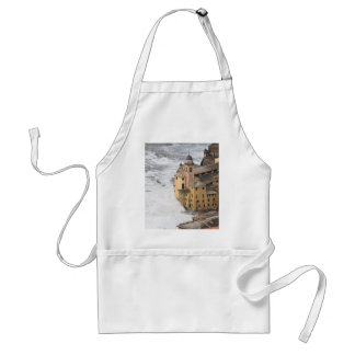 Storm in Camogli Adult Apron