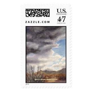 Storm in Gorman Postage