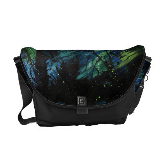 Storm in Space Messenger Bag