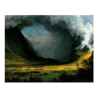 Storm in the Mountains Post Cards