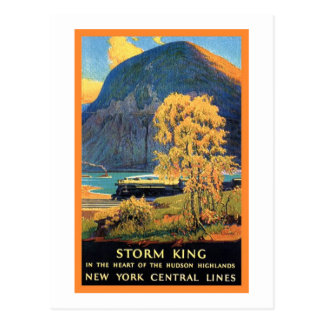 Storm King New York Central Lines Postcard