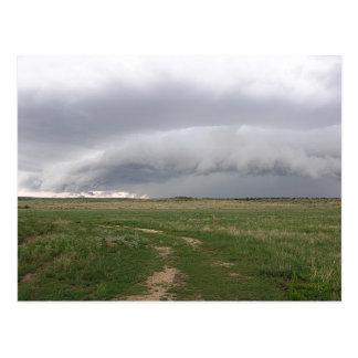 Storm Menace Postcard
