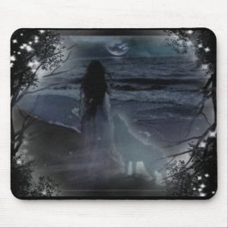 Storm Moon Mouse Pad