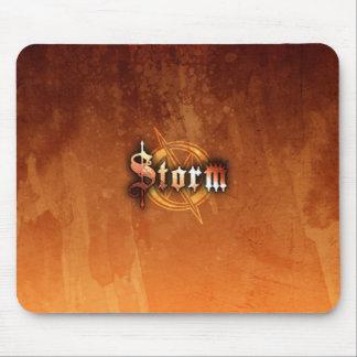 Storm Mousepad - (RustRed)