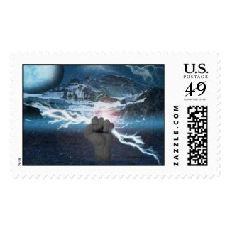 Storm of the Gods Postage Stamps