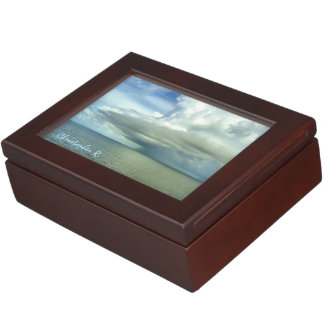 Storm Off Starboard Deck Personalized Memory Box