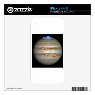 Storm on Jupiter iPhone 4S Decal
