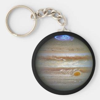 Storm on Jupiter Keychain