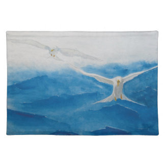 Storm on The Gulf Cloth Placemat