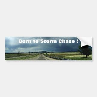 Storm on the Horizon Car Bumper Sticker