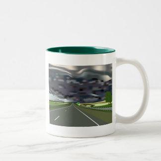 Storm on the Horizon Coffee Mugs