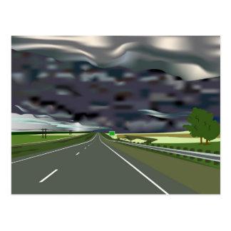 Storm on the Horizon Postcard