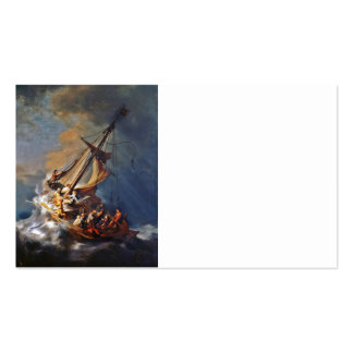 Storm on the Sea of Galilee Business Card