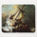 Storm on the Sea of Galilee Mouse Pad