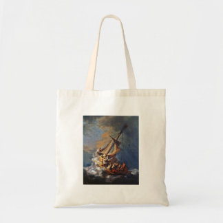 Storm on the Sea of Galilee Tote Bag