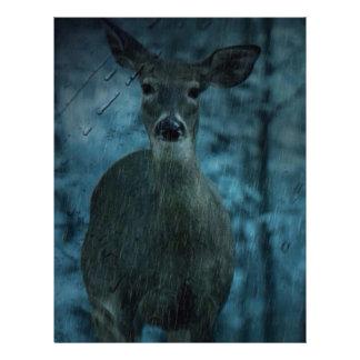 Storm outdoorsman wild life whitetail buck Deer Letterhead