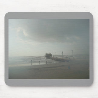 Storm over Galveston, Tx Mouse Pad