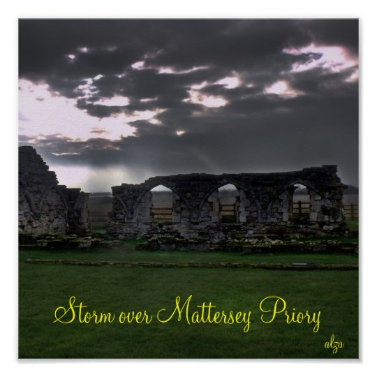 Storm over Mattersey Priory poster
