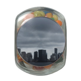 Storm over Miami Jelly Belly Candy Jars