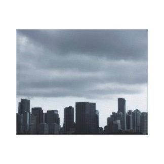 Storm over Miami Canvas Print