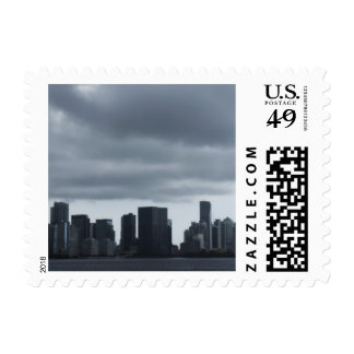 Storm over Miami Stamp