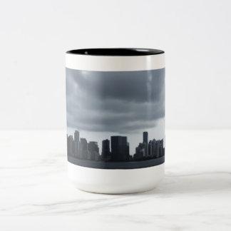 Storm Over Miami Two-Tone Coffee Mug
