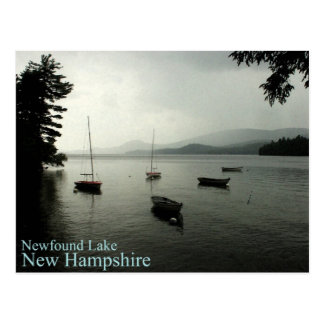 Storm Over Newfound Lake Post Card