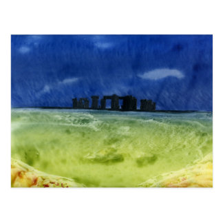 Storm over Stonehenge Postcard